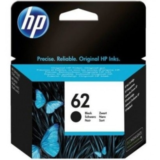 HP 62 inkt cartridge zwart