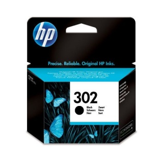HP 302 inkt cartridge zwart